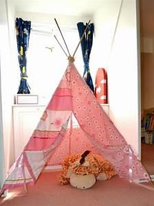 Tipi Enfant Fille : tipi indien pour d co de chambre d 39 enfant ~ Melissatoandfro.com Idées de Décoration