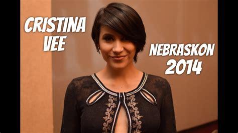 cristina vee panel anime nebraskon 2014 youtube