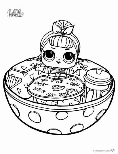 Lol Surprise Coloring Pages Doll Printable Funny
