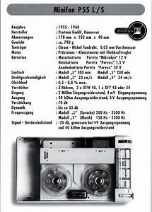 Vintage Technics  Minifon P55 Plexi
