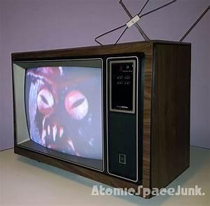 1981 Jc Penney 19 U0026quot  Color Tv Set