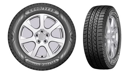Goodyear Unveils Vector 4seasons Cargo Tire For Light Trucks
