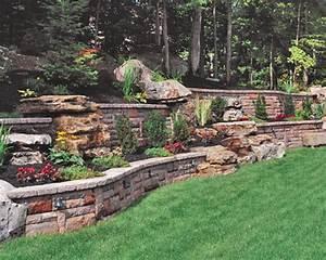 Triyae garden retaining wall ideas various design