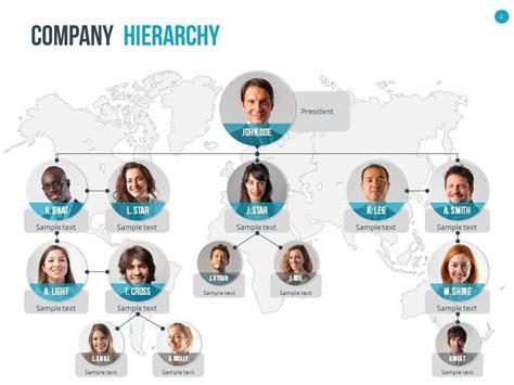 organizational chart  hierarchy template