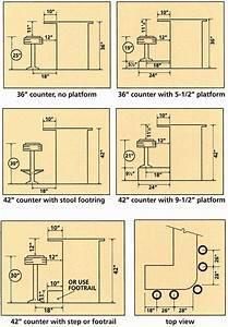 42 U0026 39  U0026 39  Counter With Step  Footrail