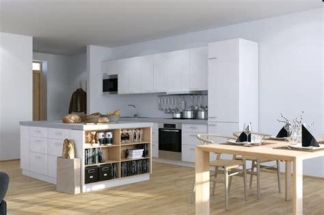 kitchen island small apartment scandinavian studio apartment kitchen with open plan dining and storage island bianca