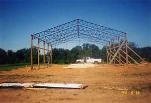 Agri steel buildings for 40 ft metal trusses