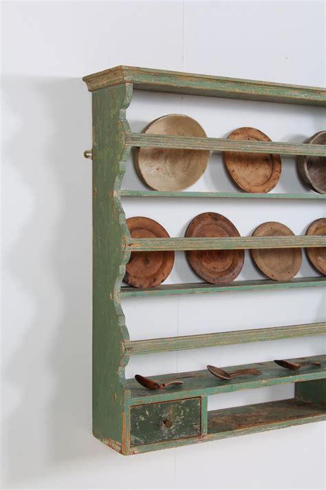 original scandinavian country stepped plate rack   plate racks plate rack wall plate