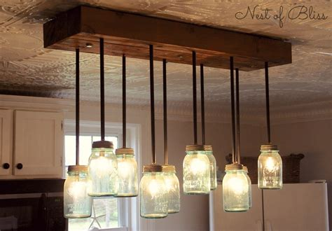 someday crafts diy jar chandelier