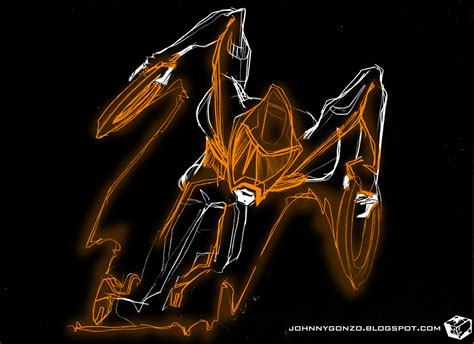 the GONZO Nation: Tron Legacy Inspired