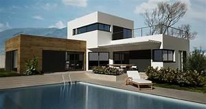 maison moderne recherche google maison pinterest With nice agrandir sa maison prix 5 plan et photo de maison avec etage ossature bois par