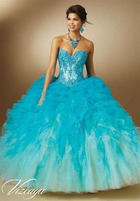 109 Best Images About Blue Quinceanera Dresses On