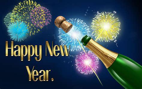 happy  year celebration   year champagne explosion