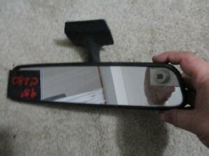 I cant believe that i have one! 94 95 MERCEDES C280 C220 INTERIOR REAR VIEW MIRROR OEM ...