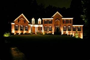 Outdoor lighting and landscape in st louis