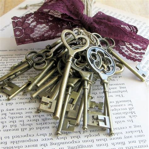 Items Similar To Skeleton Key Favors 24 Skeleton Key