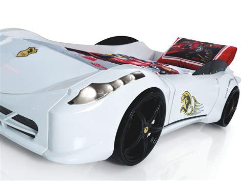 Ferrari 458 Race Car Bed - White - Car Bed Shop | Kids Bed ...