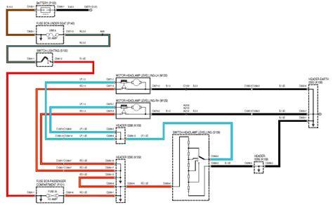 Wiring Wipac Series Headlight Level Motor