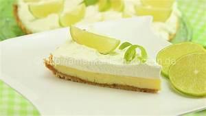 Key Lime Pie (Kuchen Dessert aus Limetten) amerikanisch kochen de