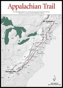 Appalachian Mountain Trail Map