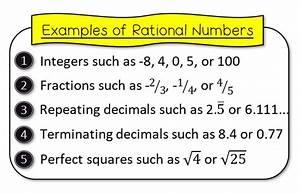 Rationals Vs Irrationals