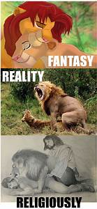Fantasy vs Reality vs Religiously