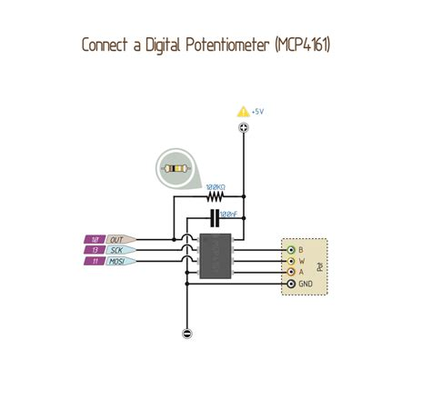 Wiring Digital Potentiometer With Mcp Core