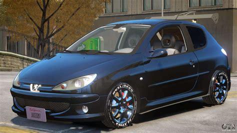 Peugeot 206 Tuning V1 for GTA 4