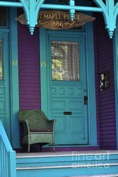 blue  purple victorian house google search colorful