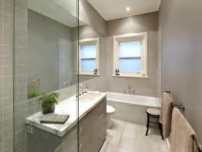modern bathroom design with recessed bath using frameless glass bathroom photo 734367