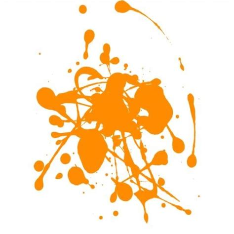 deco chambre cars stickers taches de peinture orange achat vente