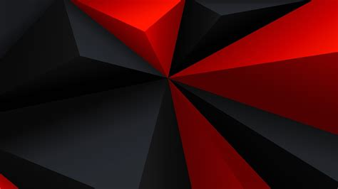Abstract Black Triangle Background by Digital Minimalism Low Poly Geometry Triangle