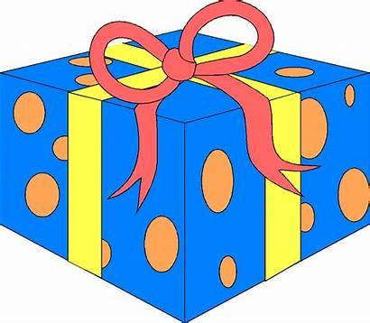 Present Geburtstag Clipart Birthday Kostenlos Cliparts Gift