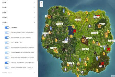 fortnite este mapa interactivo es la herramienta perfecta