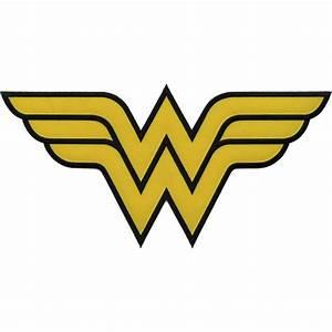 Wonder Woman X-Large Logo Patch