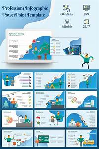 Professions Infographic Powerpoint Template  73374