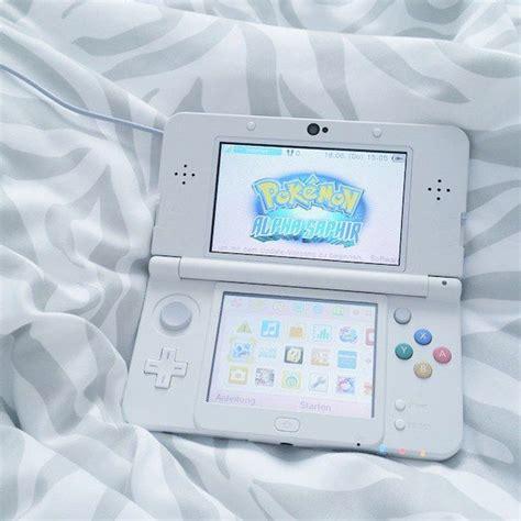 Console Ds Gaming Nintendo Nintendo Ds Pale Pokemon