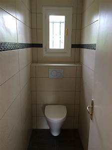Pose Toilette Suspendu : carrelage mural wc suspendu maison et ~ Melissatoandfro.com Idées de Décoration