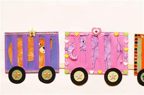 circus train kids crafts fun craft ideas firstpalettecom