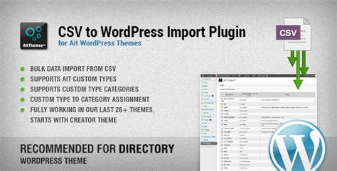 wordpress  csv export plugin