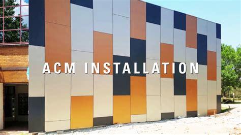 ensuring  safe   acm cladding panels youtube