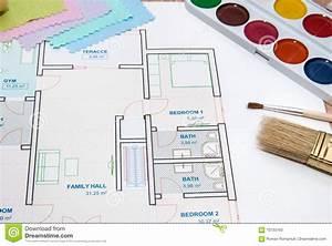 plan architectural de maison avec des echantillons de With maison en palette plan