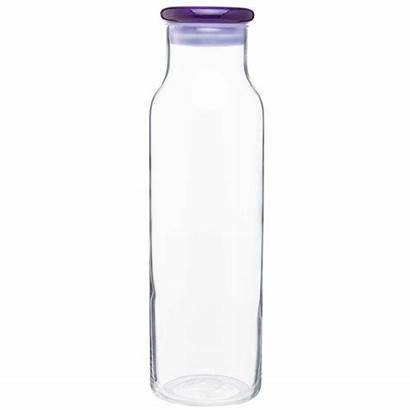 Glass Bottle Water Bottles Purple Vibe H2go