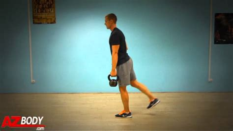 kettlebell deadlift leg single