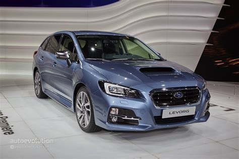subaru levorg subaru levorg makes the weirdest debut of the geneva motor