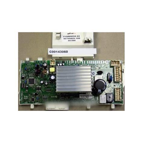 lave linge sans electronique module de puissance sans eprom resinee pour lave linge ariston r 233 f c00143060 lavage lave