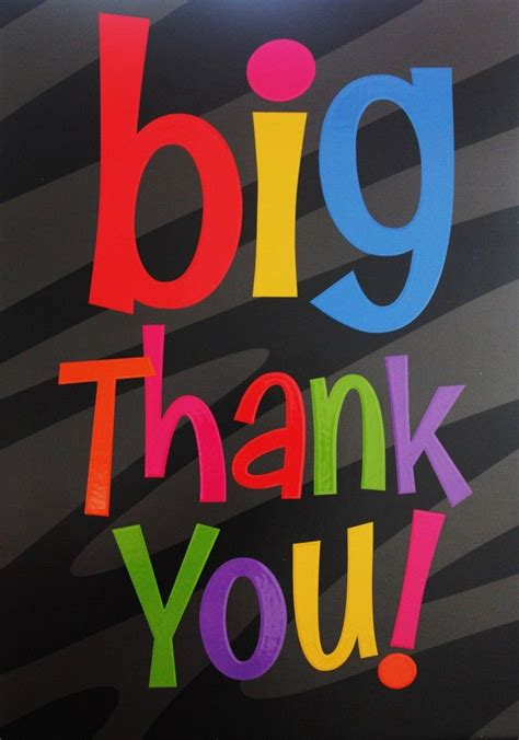 Big Thank You For Liking Fan Page Facebook