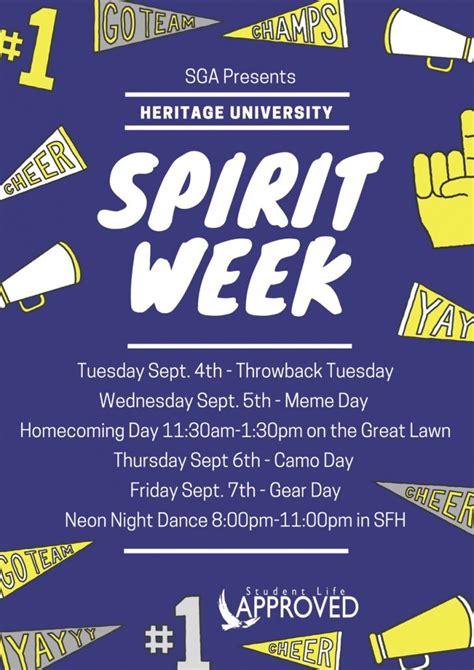 Spirit Week - HU Gear Day   Heritage University