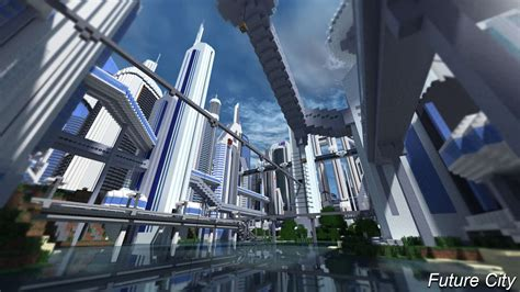 future city 3 4 minecraft building inc
