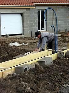 Faire Un Seuil De Portail : et les clotures arrivent la construction de notre maison ~ Premium-room.com Idées de Décoration